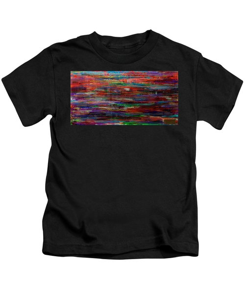 Abstract In Reflection Kids T-Shirt