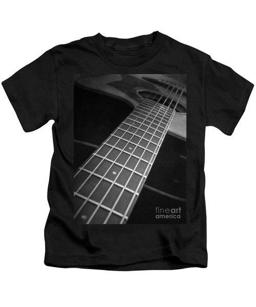 Acoustic Guitar Kids T-Shirt
