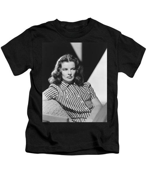 Actress Katharine Hepburn Kids T-Shirt