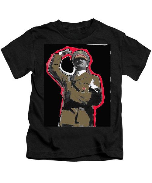 Adolf Hitler Saluting 2 Circa 1933-2009 Kids T-Shirt