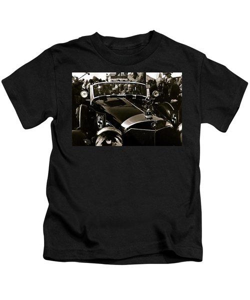 Adolf Hitler's 1941 Mercedes-benz 770-k Touring Car Sold At Auction Scottsdale Arizona 1973 Kids T-Shirt