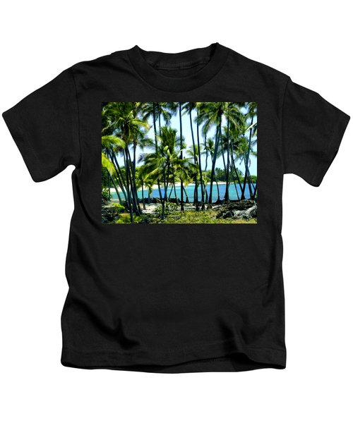 Afternoon At Kakaha Kai Kids T-Shirt