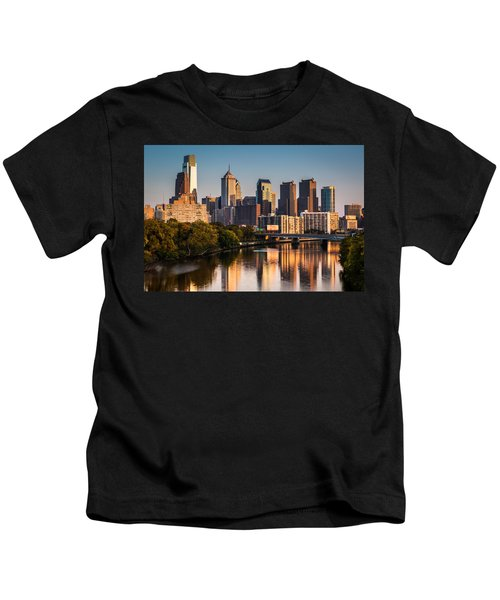 Afternoon In Philly Kids T-Shirt