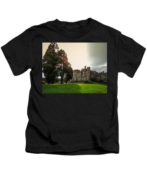 Afternoon Sun Over Markree Castle Kids T-Shirt