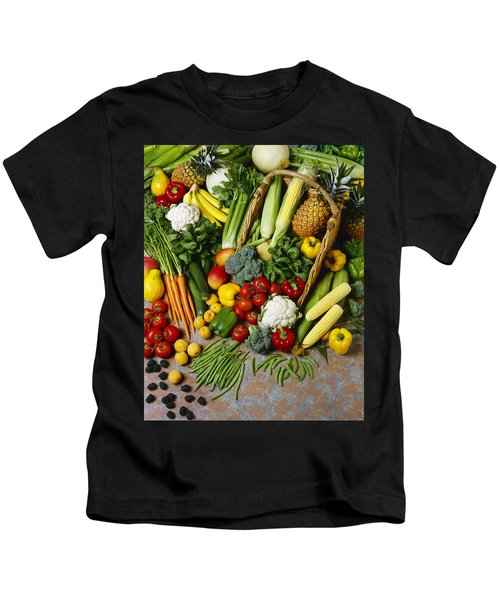 Agriculture - Mixed Fruit Kids T-Shirt