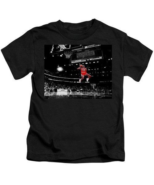 Air Jordan Kids T-Shirt by Brian Reaves
