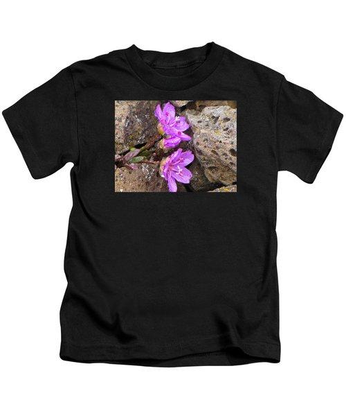 Alaskan Wildflower Kids T-Shirt