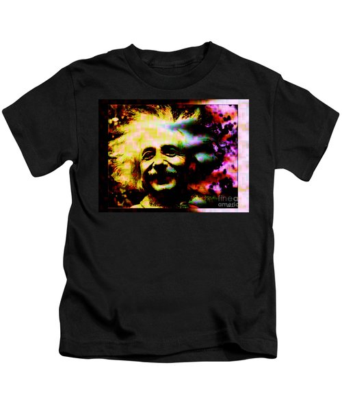 Albert Einstein - Why Is It That Nobody Understands Me - Yet Everybody Likes Me Kids T-Shirt