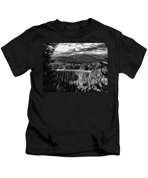 Alder Dam Near Mt Rainer Wa Kids T-Shirt