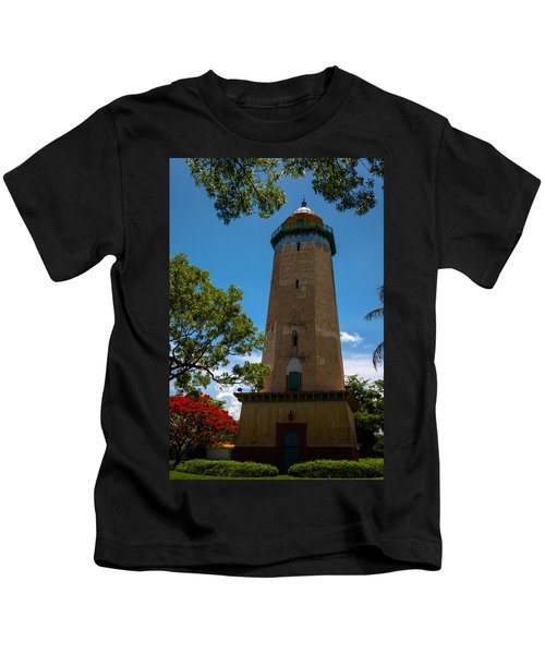 Alhambra Water Tower Of Coral Gables Kids T-Shirt
