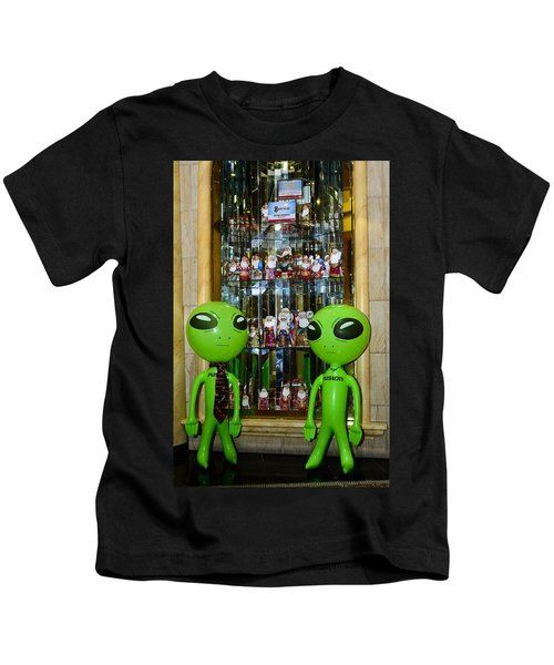 Alien Christmas Tour Kids T-Shirt