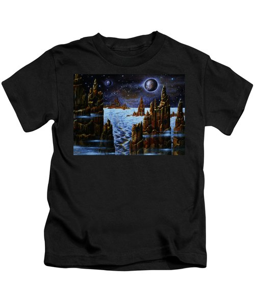 Ice And Snow  Planet  Kids T-Shirt