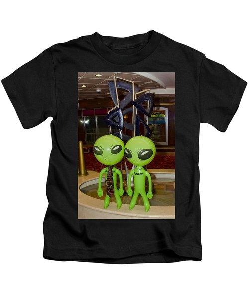 Aliens And Whatamacallit Kids T-Shirt