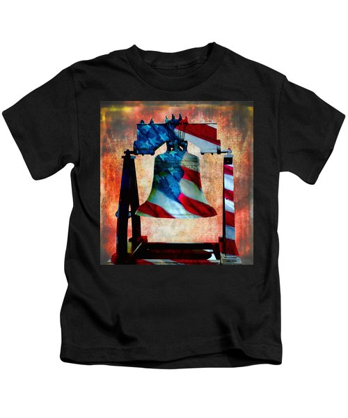 Liberty Bell Art Smooth All American Series Kids T-Shirt