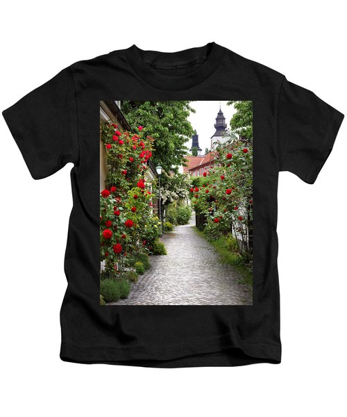 Alley Of Roses Kids T-Shirt