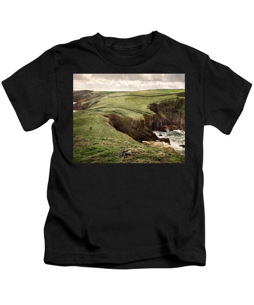 Along The Coast Path Kids T-Shirt