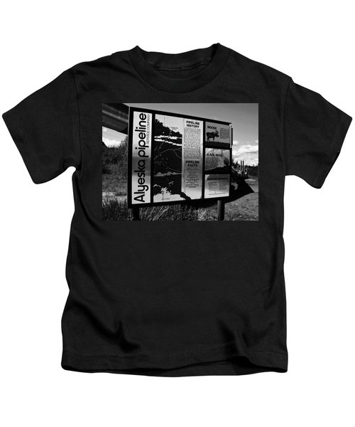 Alyeska Pipeline Kids T-Shirt