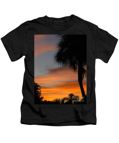 Amazing Sunrise In Florida Kids T-Shirt