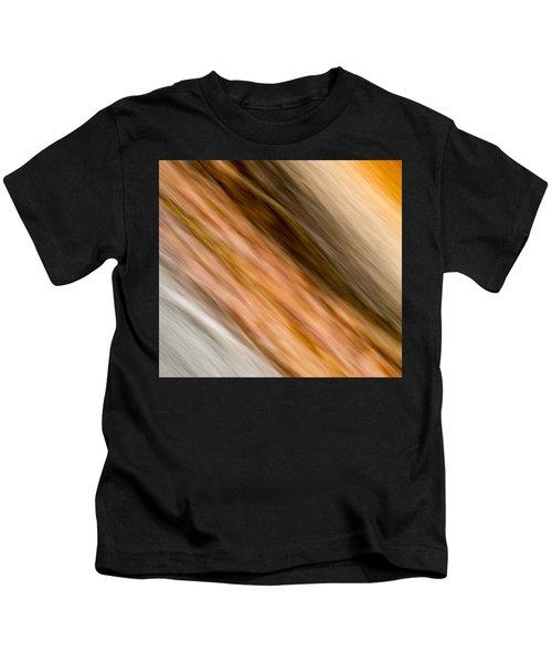 Amber Diagonal Kids T-Shirt