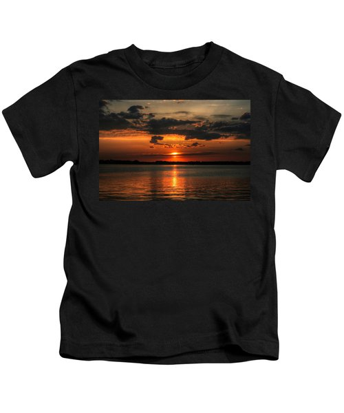 Amber Sunset Kids T-Shirt