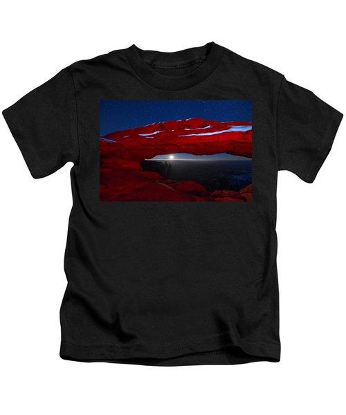 American Moonrise Kids T-Shirt