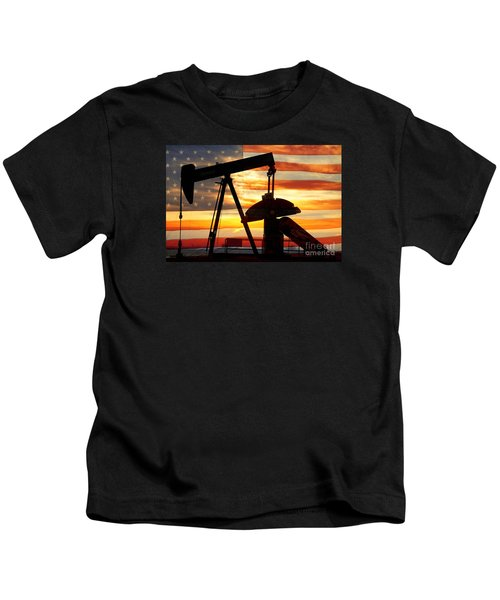 American Oil  Kids T-Shirt