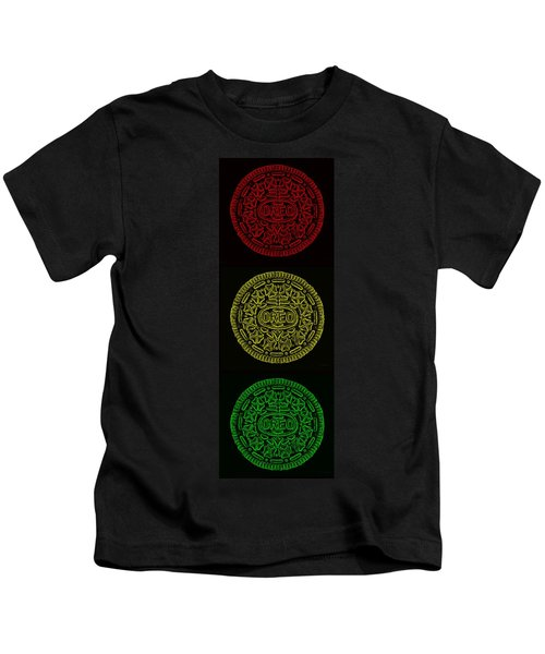 American Oreo Traffic Light Kids T-Shirt