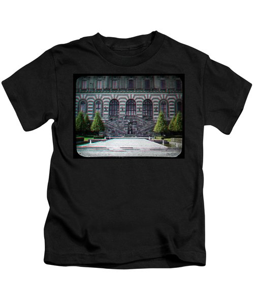 Anaglyph Garden Of The Royal Palace Kids T-Shirt