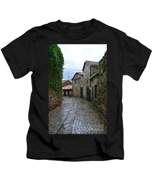 Ancient Street In Tui Kids T-Shirt