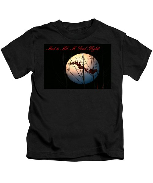 And To All A Good Night Kids T-Shirt
