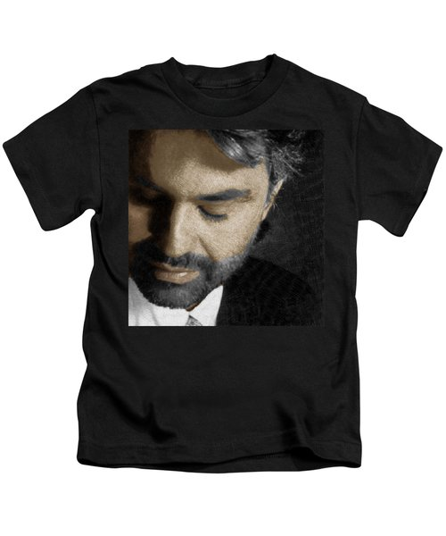 Andrea Bocelli And Square Kids T-Shirt