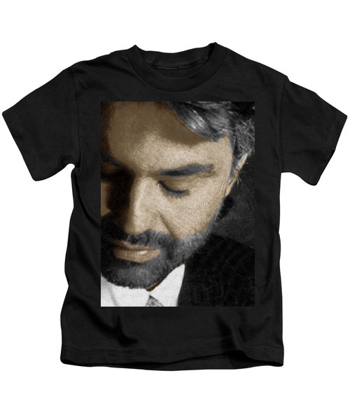 Andrea Bocelli And Vertical Kids T-Shirt