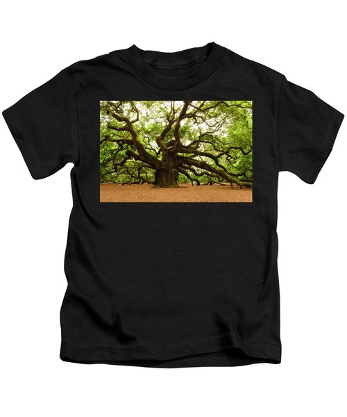 Angel Oak Tree 2009 Kids T-Shirt