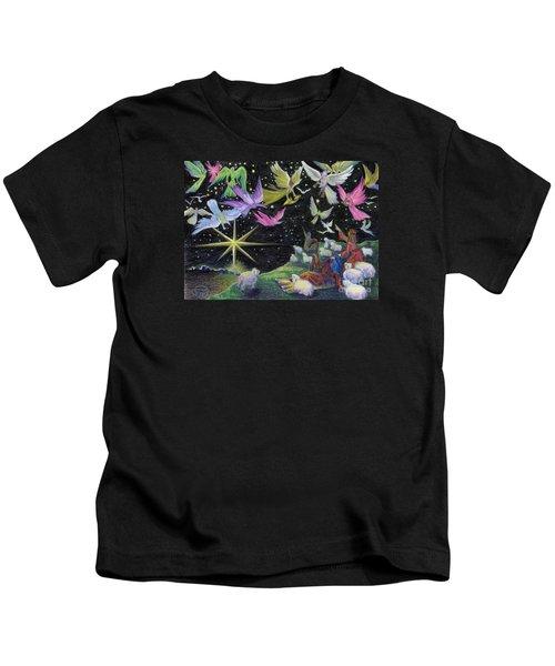 Angel Skies Kids T-Shirt