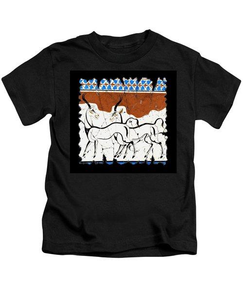 Antelope Of Akrotiri Kids T-Shirt