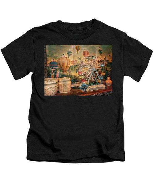 Antique Ferris Wheel Walt Disney World Kids T-Shirt