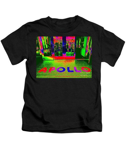 Apollo Pop Kids T-Shirt by Ed Weidman