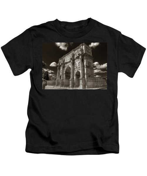 Arch Of Constantine Kids T-Shirt
