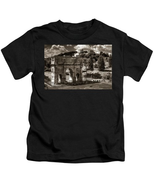 Arch Of Contantine Kids T-Shirt