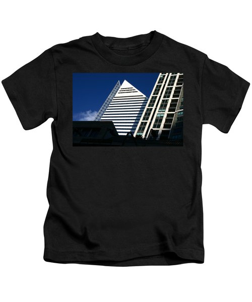 Architectural Pyramid Kids T-Shirt