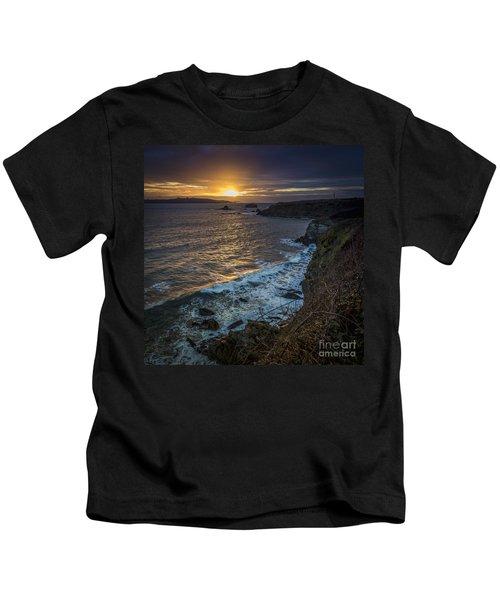 Ares Estuary Mouth Galicia Spain Kids T-Shirt