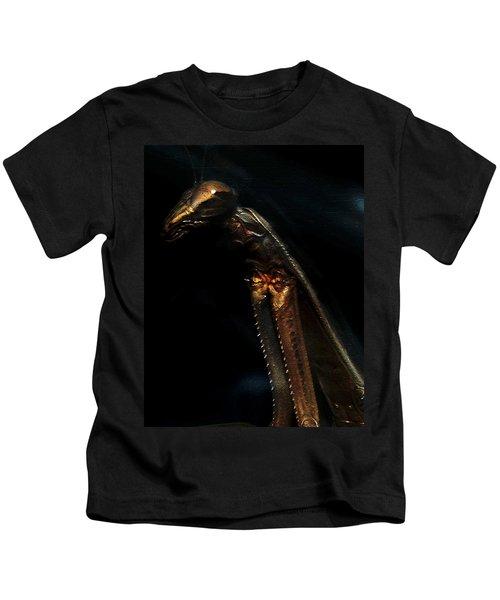 Armored Praying Mantis Kids T-Shirt