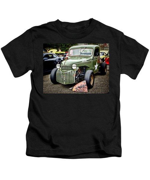 Army Truck Kids T-Shirt
