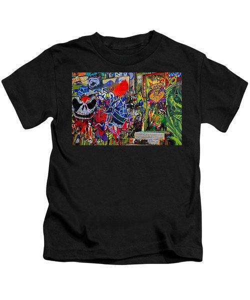 Art Alley Three Kids T-Shirt