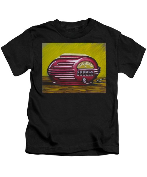 Art Deco Radio Kids T-Shirt