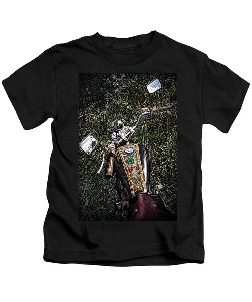 Art In The Weeds Kids T-Shirt
