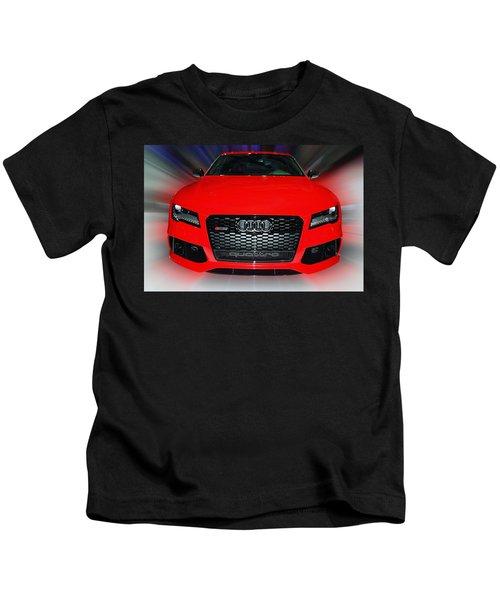 Audi Quattro Rs7 2014 Kids T-Shirt