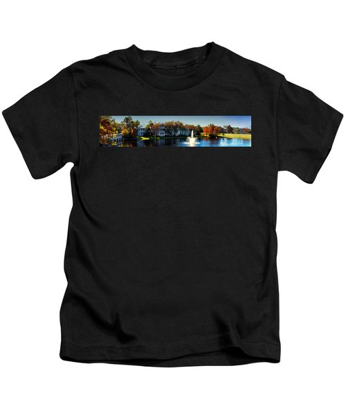 Autumn At Old Key West Resort Panorama Walt Disney World Kids T-Shirt