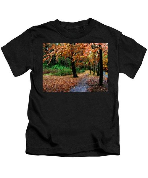Autumn Entrance To Muckross House Killarney Kids T-Shirt
