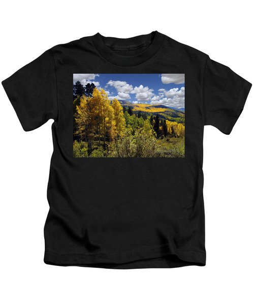 Autumn In New Mexico Kids T-Shirt